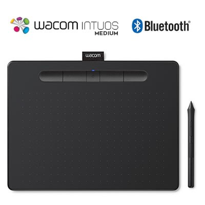 Tableta Digitalizadora Dibujo Wacom Intuos Bluetooth Medium Ctl-6100wl