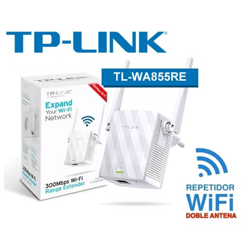 Repetidor Wifi Wireless N Extensor Tp-Link Tl-Wa855re 300mbps