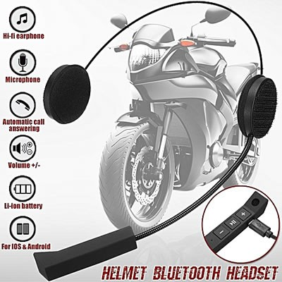 Intercomunicador Bluetooth Llamadas Para Casco Motocicleta