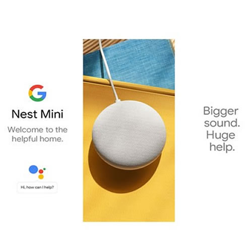 GOOGLE HOME MINI NEST 2 PARLANTE INTELIGENTE ASISTENTE DE GOOGLE